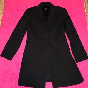 Express long dress suit jacket blazer